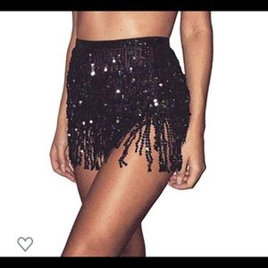 Dresses & Skirts - Festival tie sequin skirt